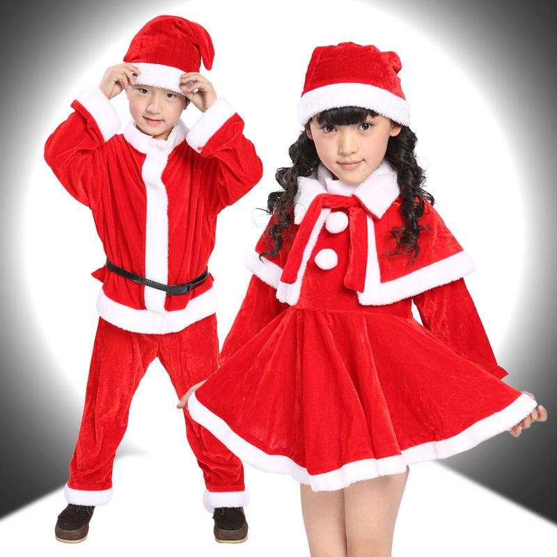 Girls christmas kids santa claus costume fgwc buy