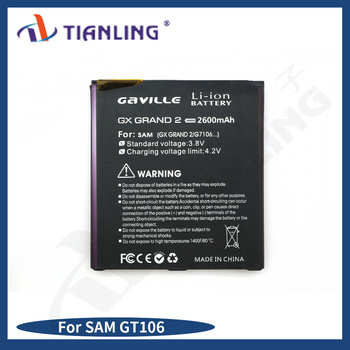 cheapest Li-ion Battery Rechargeable battery SAM GT106 2600mah for Samsung