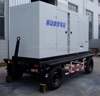 80KW/100KVA Portable Generator powered by Cummins engine
