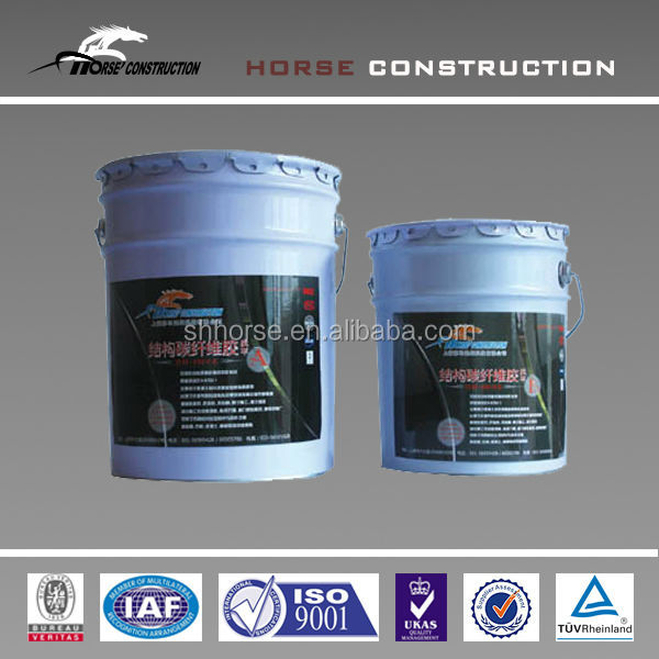 leveling adhesive for damaged concrete surface