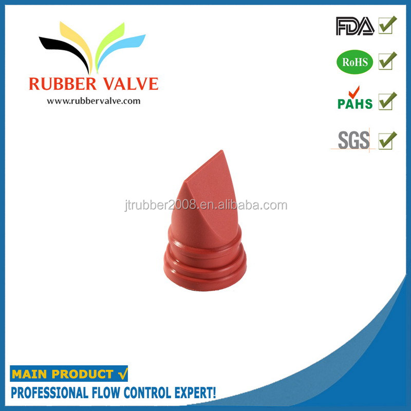 Liquid soap dispenser rubber one way valve
