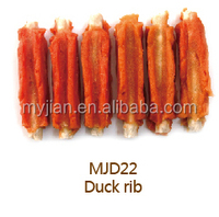 duck rib pet Food snack dog treats