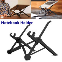 New Design Portable, Foldable & Height Adjustable Plastic Stand for Laptop