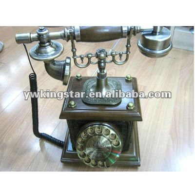 Antique caller id telephone