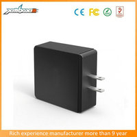 CE/ FCC/ ROHS Approved multi travel charger 4 port usb wall charger