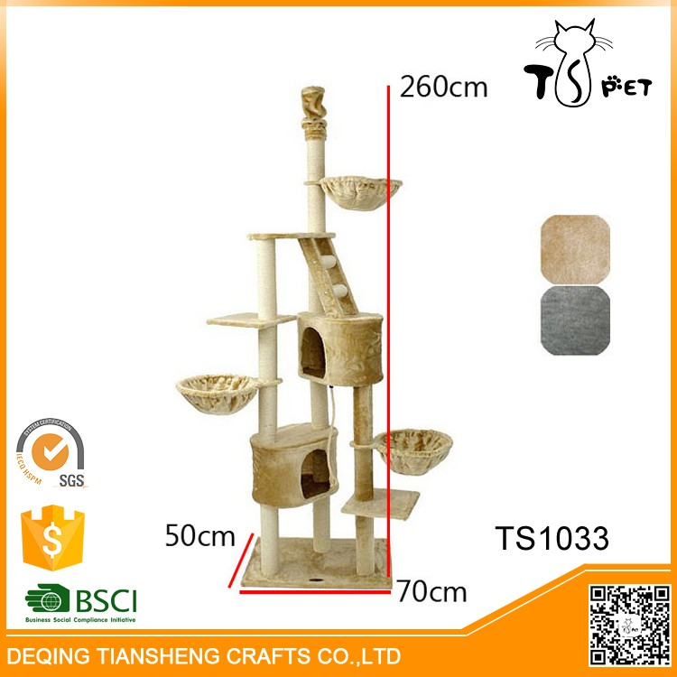 Pet Toys Type and Cats Application Wooden Cat Tree