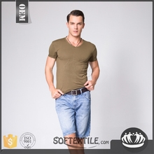 softextile 2016 Screenprinting t-shirts cotton modal new style of t-shirt cotton stock for available