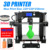 2018 Newest upgraded reprap prusa i3 3d printer desktop filament extruder machine printer 3d