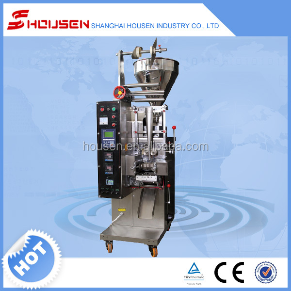 HSU-100Y With automatic packing machine for tomato paste ketchup packaging production line