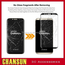 Full Cover Premium Tempered Glass For Samsung Galaxy S8 3D Curved Screen Protector For Samsung S8 S8Plus Glass Films
