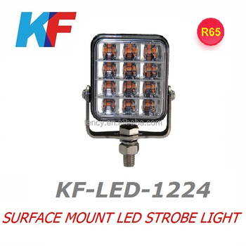 New LED strobe flash light , LED Work Lamp,R65 Approved