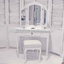 dressing mirror with cabinet/dressing table mirror with drawer