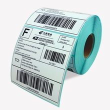 cheap roll direct thermal label blank label barcode label for zebra