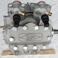 Original Bitzer AC Compressor 4PFCY 24V New ac compressor without Clutch for Bitzer bus ac compressor used