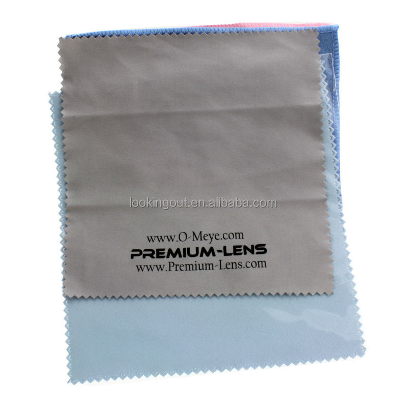 quality products microfiber lens cleaning cloth in carry case