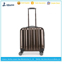 cheap top quality PC trolley luggage girl's cute printed luggage