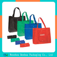 2015 Hot selling nonwoven folded handbags