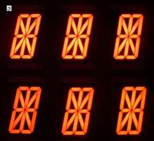 7 segment led display 14 segment, 16 segment alphanumeric led display