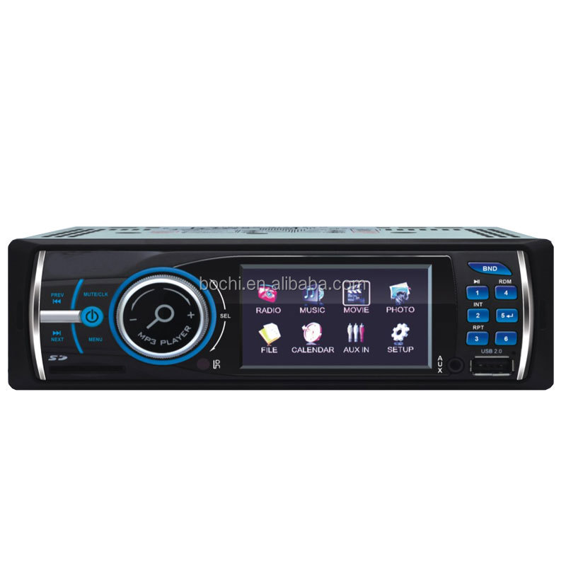Fashionable Best Car mp3/MP4 player with 3/3.5 inch TFT Display Digital Panel