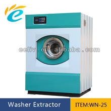 25kg hot selling fully automatic laundry industrial washing machine