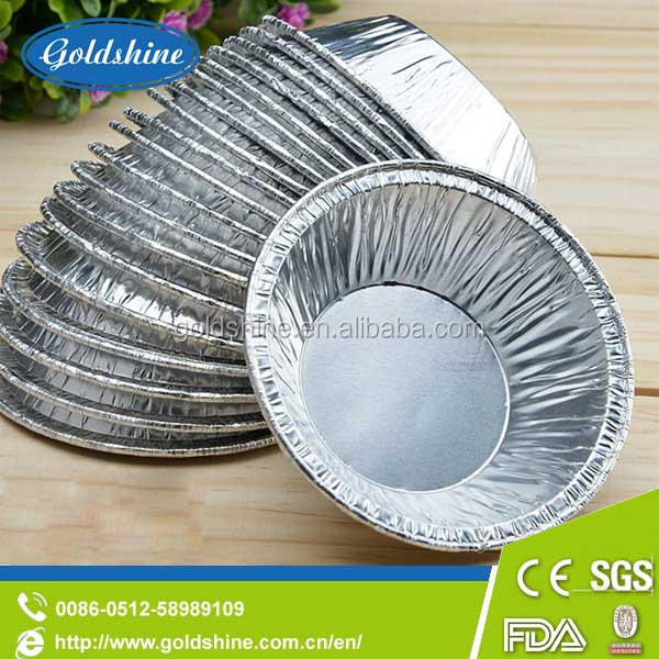 Heat resistant disposable aluminum foil bowl