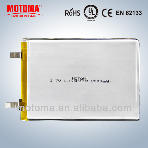 motoma li ion batteries pack 3 7v rechargeable