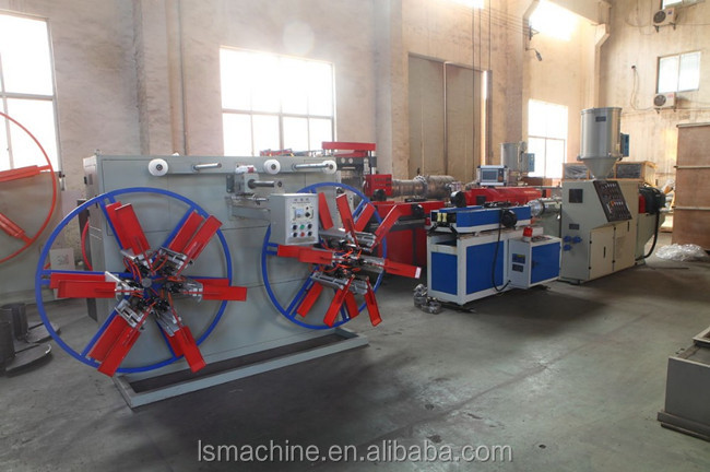 Plastic PVC PP PE HDPE Single Wall Corrugated Conduit Tube Forming Machine Chinese Supplier