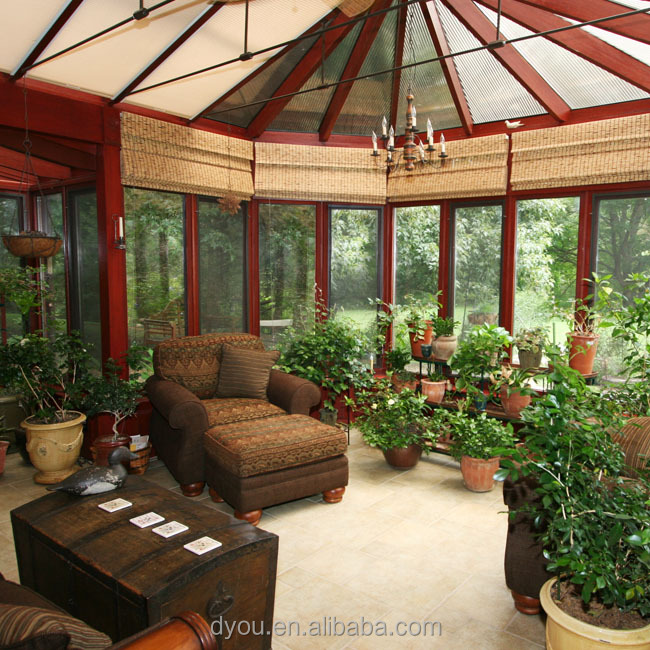 Energy-saving temperede Insulated Glass Sun Room