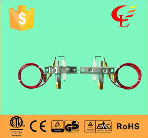 gas heater parts pilot flame assembly