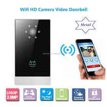 1080P HD Smart Wireless Video Doorbell Camera Infrared Night Vision PIR Motion Detection Two-Way Talk Audio Digital Doorphone