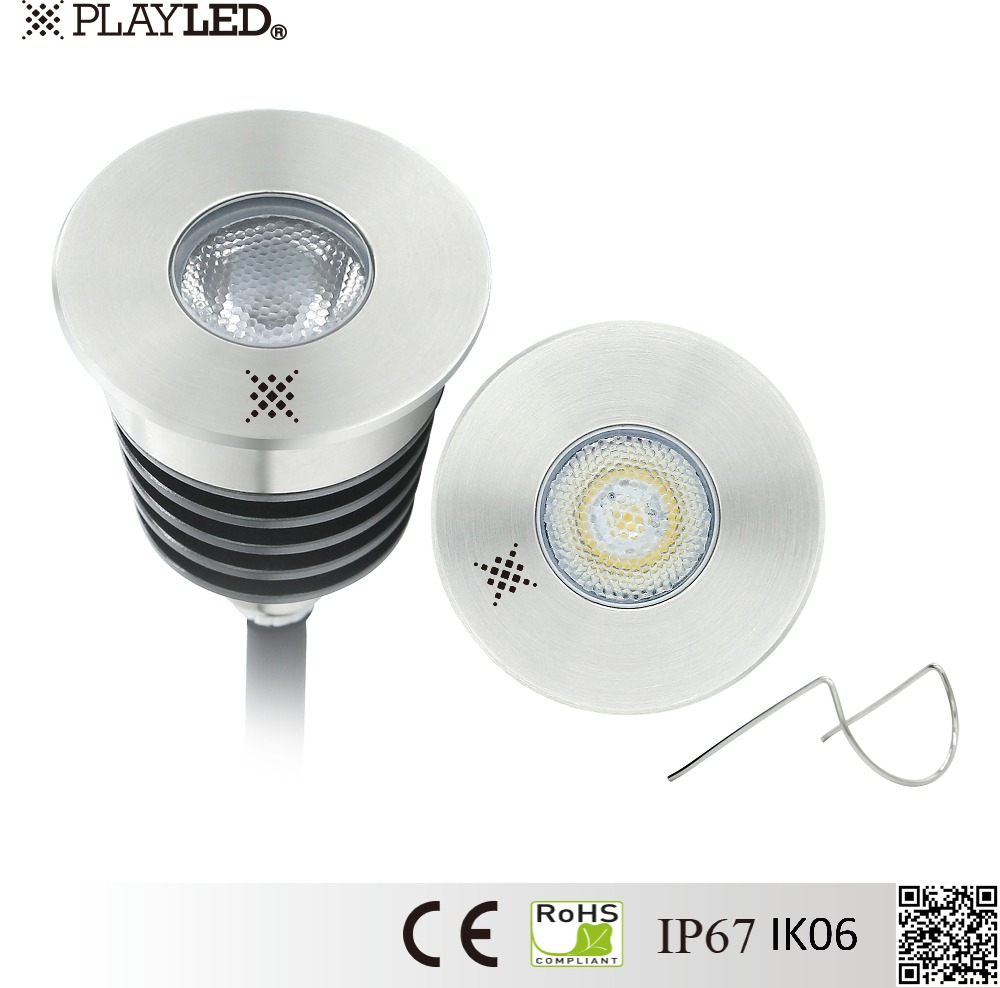 3w IP67 led deck lighting inground light led ground light with ce and rohs