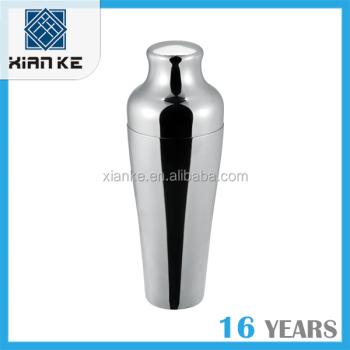 0.75L High quality stainless steel cocktail shaker