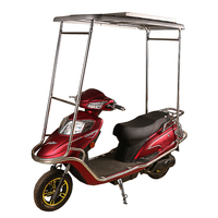 powerfull electric scooter with solar roof 72v1000w motor good quality motorcycle (HP-E054)