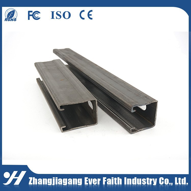 Factory Supply Corrosion Resistance Perforated Channel Steel Dimensions