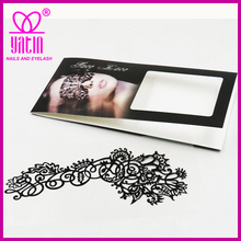 High Quality Decorated face Tattoos, halloween face Sticker, Latest Design 3d Body Tattoos