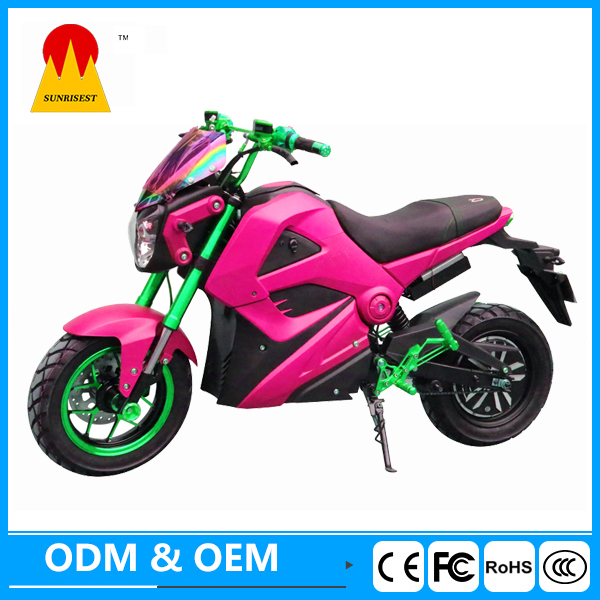 2000w Brushless Cheap Adult M3 Electric Motorcycle with OEM service