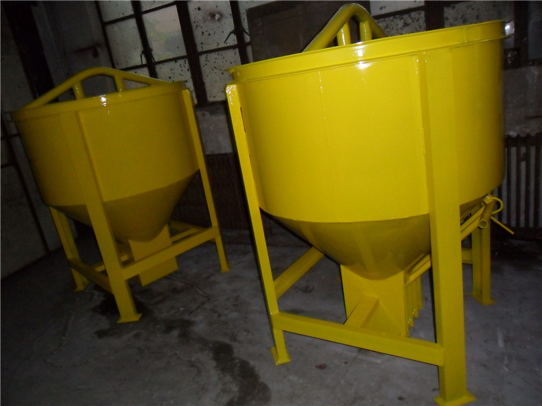hot selling manual concrete bucket for tower crane made in China