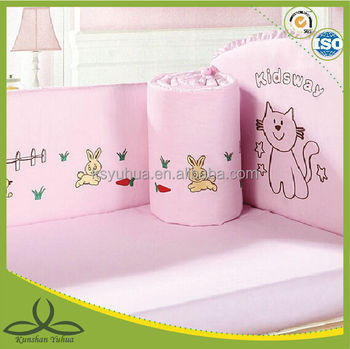 New embroidery baby bedding set