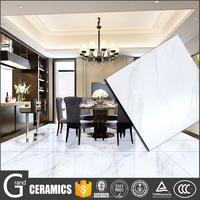 China supplier white home designs glossy floor tiles ceramics building materials