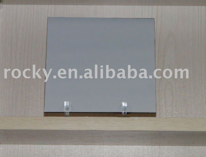 produce 4mm 3mm safety silver mirror with vinyl back factory