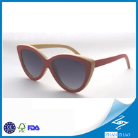 Natural Custom wood and Bamboo sunglasses with polarized lenses