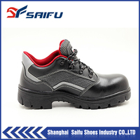 pu sole design leather protective footwear SF1502