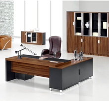 Made in China office chairman furniture chairman desk wooden modern office table