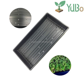 Hot sale good quality plastic wheatgrass and microgreens tray for animal fodders