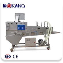 Frying crispy chicken wing machine processing line