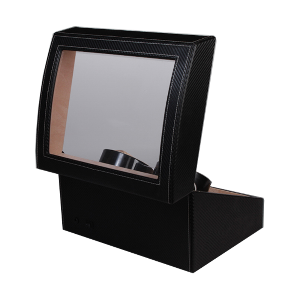 High Quality Luxury Stock Pu Leather 46 Watch Winder