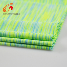 Chunnuo New Arrival Stretched Spandex Polyester Space Dye Fabric