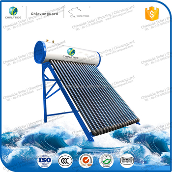 2017 Special Designing Pressurized Heat Pipe Solar Water Heater for Mexico