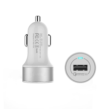 Quick Charge QC 3.0 One Port USB Car Charger - Portable Fast External Battery Pack Charger Adapter for 5V USB Devices