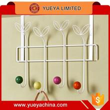 color balls Heavy Duty 4 Heads Over The Door Hooks Rack Hanger